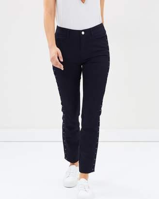 Wallis Lattice Ellie Skinny Jeans