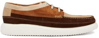 Paul Smith Seneca Deck Shoes - Mens - Brown Multi