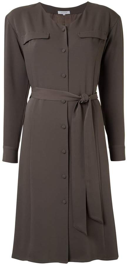 GUILD PRIME belted shirt dress