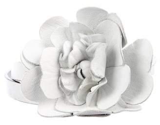 Valentino Floral Skinny Belt