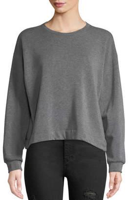 Velvet Danica Striped Crewneck Sweatshirt