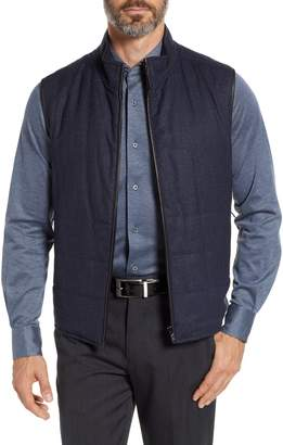 Corneliani ID Reversible Wool Vest