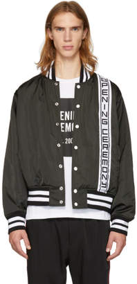 Opening Ceremony Black Logo Stadium Jacket