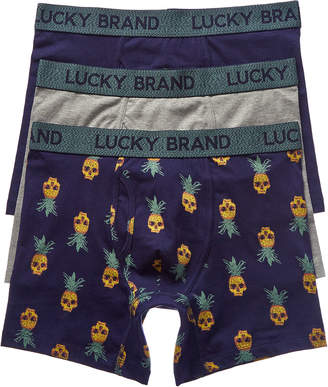 Lucky Brand 3Pk Boxer Briefs