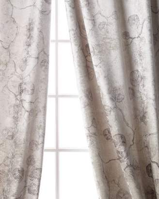 "Michael Aram Botanical Leaf Curtain, 96"""