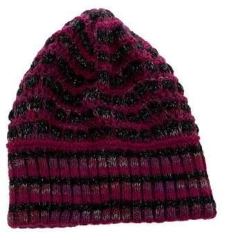 Missoni Knit Metallic Beanie