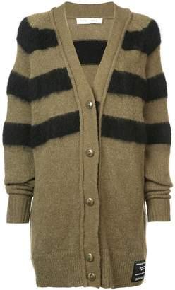 Proenza Schouler PSWL Contrast Stripe Cardigan