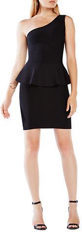 BCBGMAXAZRIABcbgmaxazria Malia One-Shoulder Peplum Dress