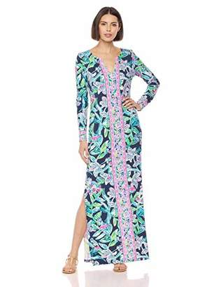 643fe038c1 Lilly Pulitzer Women's UPF 50+ Faye Maxi Dress, ...