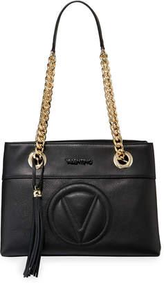 Mario Valentino Valentino By Kali Leather Chain-Strap Tote Bag
