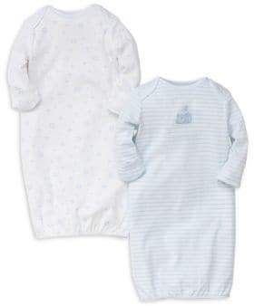 Little Me Baby Boy's Two-Pack Bear Printed Cotton Nightgown