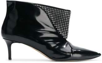 Christopher Kane crystal mesh ankle boot