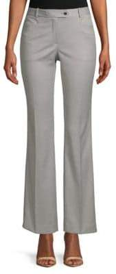 Calvin Klein Textured Wide-Leg Dress Pants