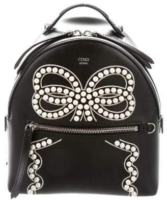 Fendi Mini By The Way Backpack Black Mini By The Way Backpack