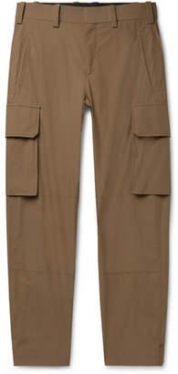 Neil Barrett Tapered Cotton-Blend Cargo Trousers