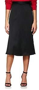 Haider Ackermann Women's Satin Midi Wrap Skirt - Black