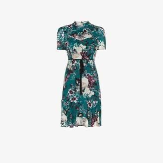 Erdem Anne floral silk mini dress