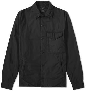 Save Khaki Supima Fleece Lined Shirt Jacket