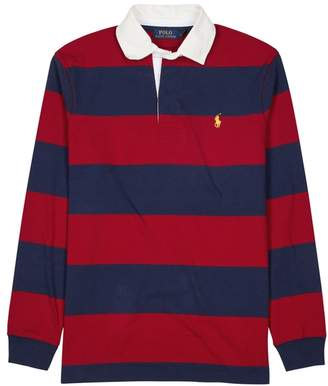 At Harvey Nichols Polo Ralph Lauren Striped Cotton Rugby Shirt