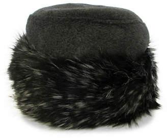 BLEKA Parkhurst Kenya Faux Fur-Trimmed Hat
