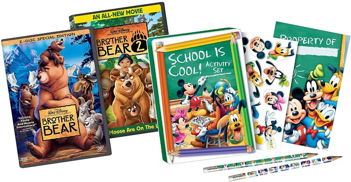 Walt Disney Video School Is Cool 2-Pk: Brother Bear/ Brother Bear II