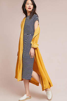 Dolan Left Coast Naudic Striped Petite Dress