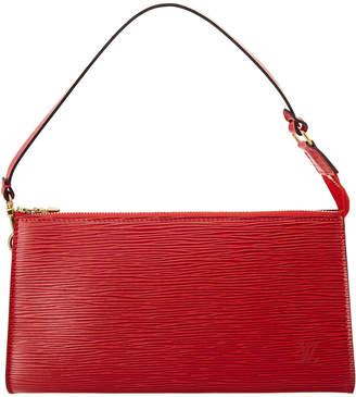 Louis Vuitton Red Epi Leather Pochette Accessoires