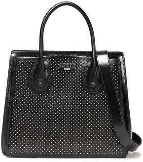 Balmain Studded Leather Shoulder Bag