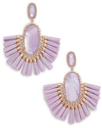 Kendra Scott Cristina Stone Tassel Earrings