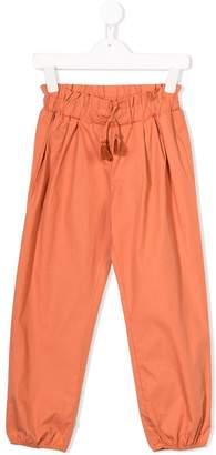 Chloé Kids tassel embellished trousers