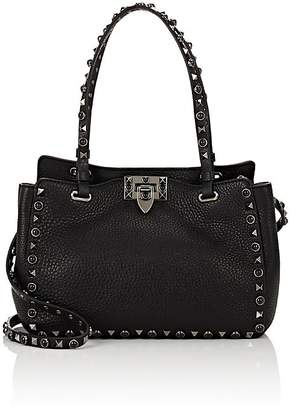 Valentino Women's Rockstud Rolling Medium Leather Tote