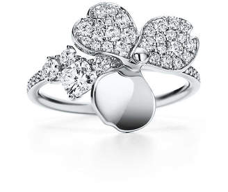 Tiffany & Co. Paper Flowers diamond flower ring