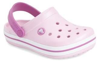 Crocs TM) 'Crocband' Slip-On (Walker, Toddler & Little Kid)