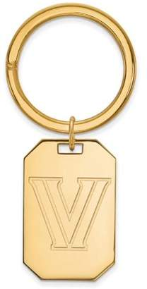 Logo Art Villanova Key Chain (Gold Plated)