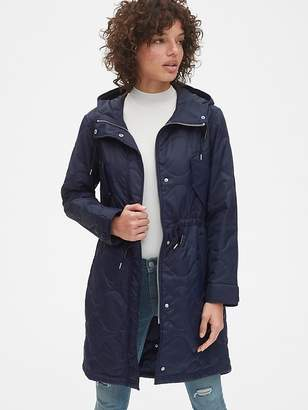 Gap Midweight Quilted Fishtail Parka