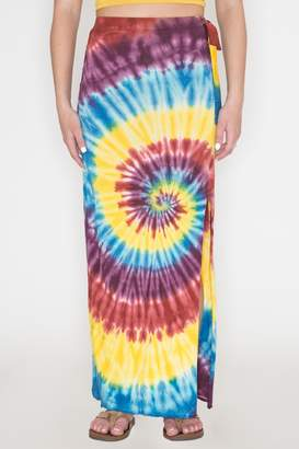Bear Dance Tie-Dye Maxi Skirt
