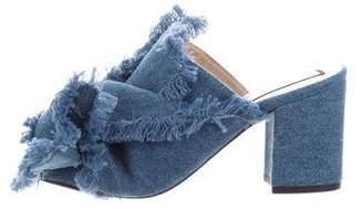 No.21 No. 21 Denim Knotted Sandals