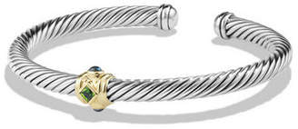 David Yurman Renaissance Single Station Bracelet with Gold