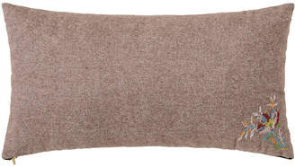 Bloomingville - Brown Wool Cushion - 60x30cm