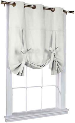 Asstd National Brand Weathermate Room-Darkening Grommet-Top Tie-Up Curtain Panel