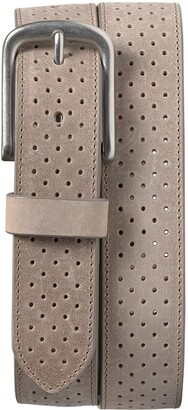 Trask Denton Perforated Leather Belt