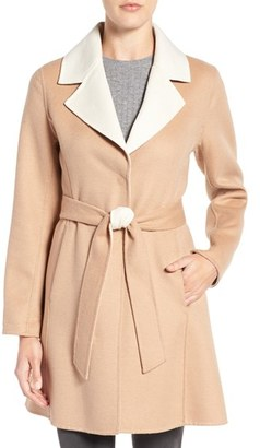 Women's Kate Spade New York Double Face Walking Coat $488 thestylecure.com