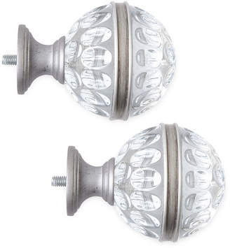 JCPenney JCP HOME HomeTM Mix & Match Set of 2 Ripple Glass Finials