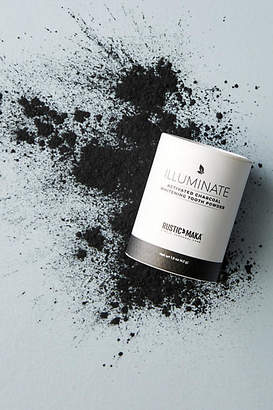 Rustic MAKA Illuminate Activated Charcoal Whitening Tooth Powder