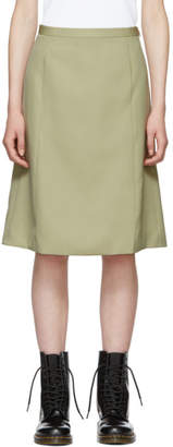 Marc Jacobs Beige Redux Grunge A-Line Skirt