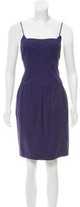 Narciso Rodriguez Sleeveless Mini Dress