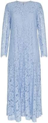 Ganni Rometty Lace Midi-Dress