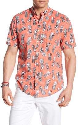 Trunks Surf and Swim CO. Pineapple Print Shirt
