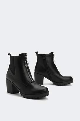 Nasty Gal Which O-Rings Me to the Point Matte Boot
