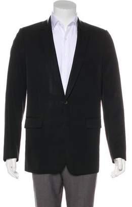 Christian Dior Wool Two-Button Blazer